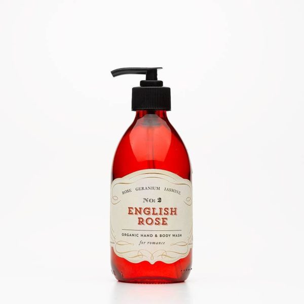 English rose hand and body wash by quintessentially english