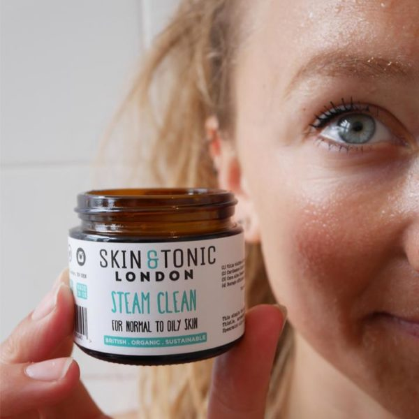 steam clean cleanser by skin and tonic london
