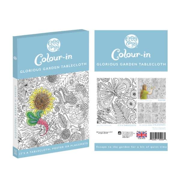 glorious garden colour in tablecloth by eggnogg