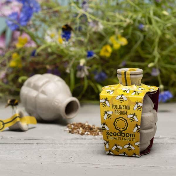 pollinator beebom by seedbom