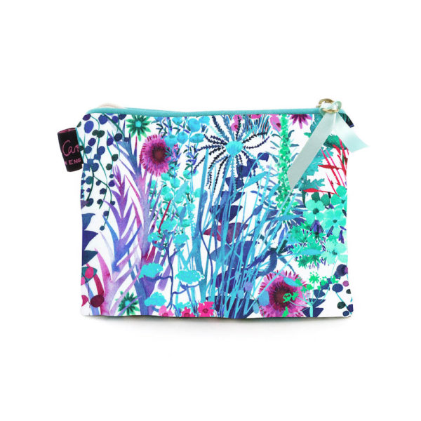 tresco aqua small purse by alice caroline