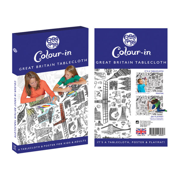 great britian colour in tablecloth by eggnogg