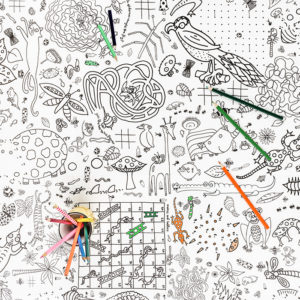 puzzletime colour in tablecloth by eggnogg