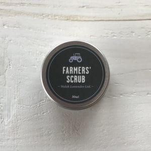 farmers scrtub by welsh lavender