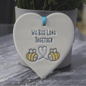 we belong together heart By broadlands pottery