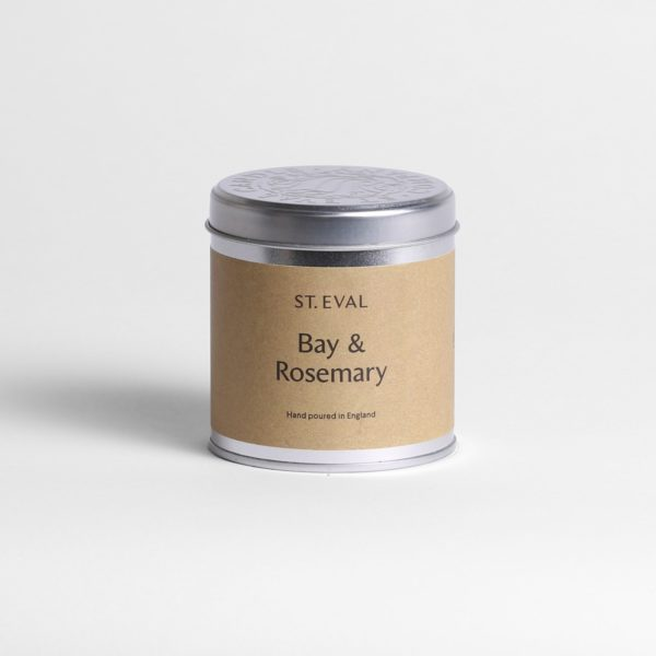 Bay & rosemary scented candle by st eval
