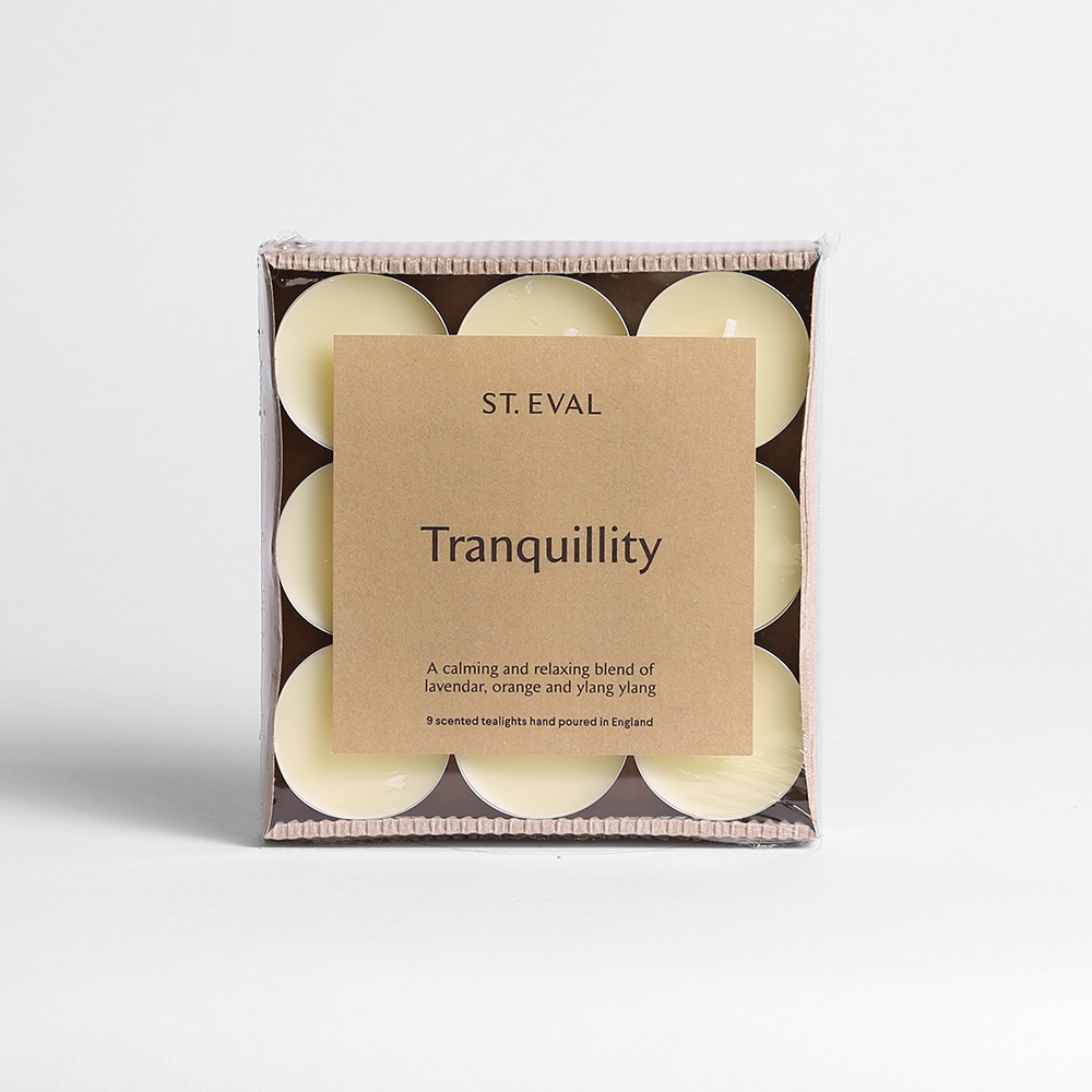 tranquility tealights