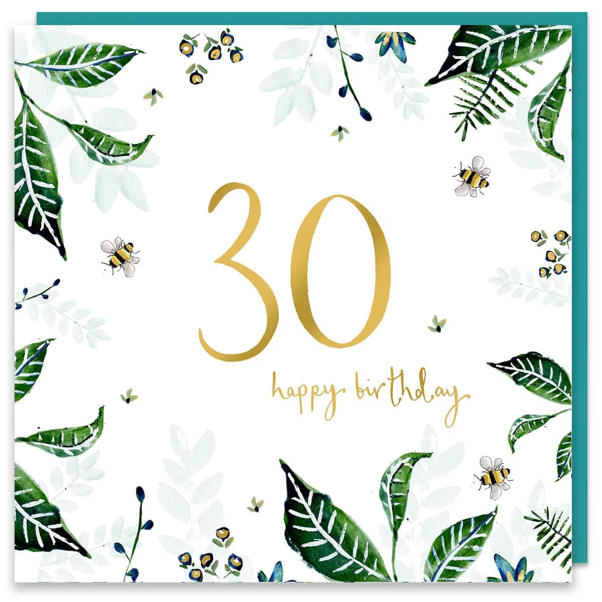 30th brithday card