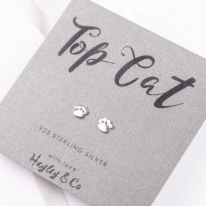 top cat earrings