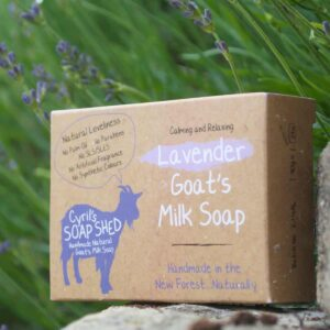 Lavender Goats Milk Soap by Cyril's soap shed