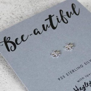 bee-autiful earrings