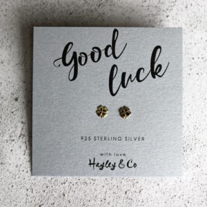 good luck earrings