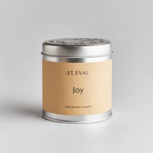 joy st eval candle tin