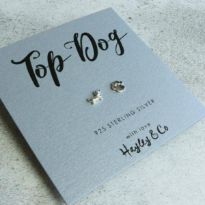 top dog earrings