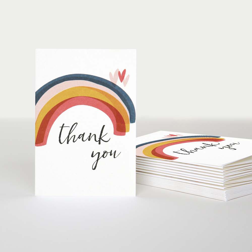 thank you card pack