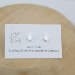 mini diamond studs