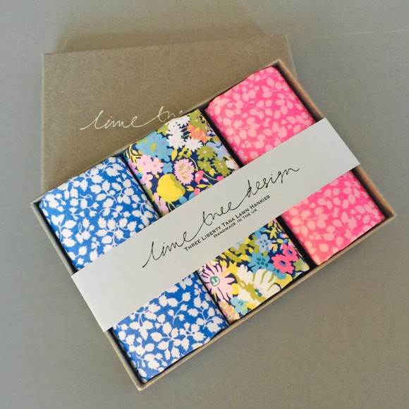 liberty hankies by lime tree design