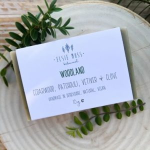 woodland soap bar