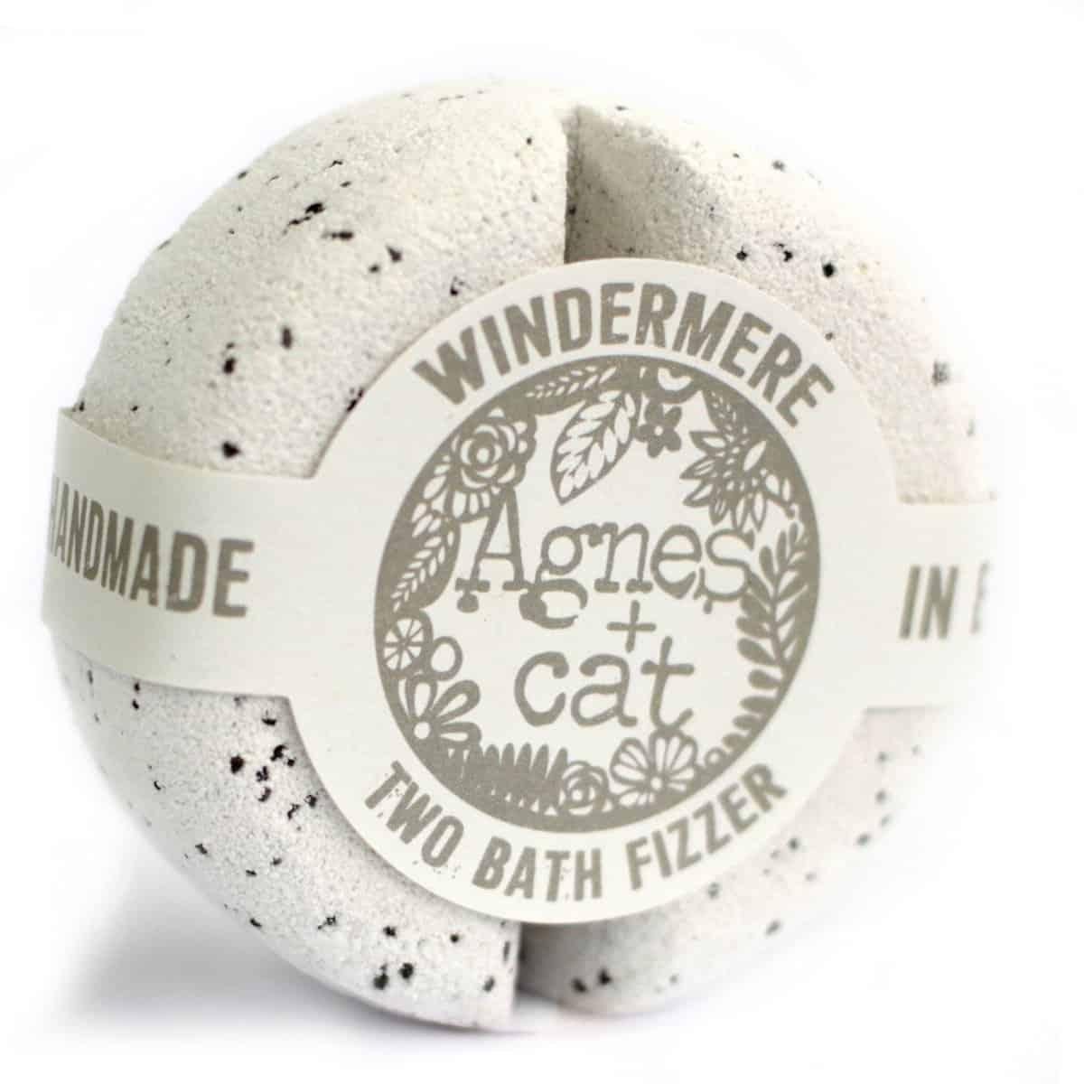 agnes and cat bath fizzer