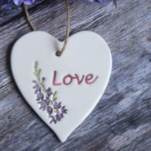 love by Broadlands pottery