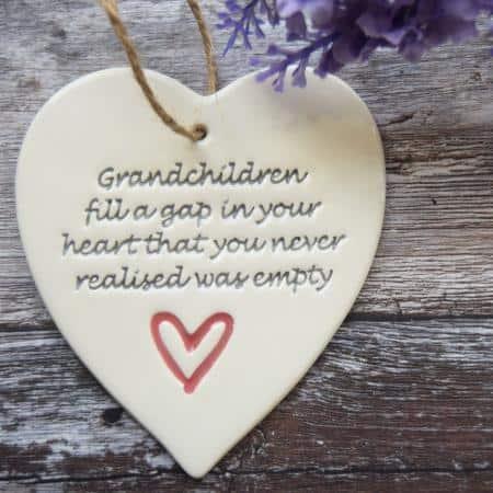 Grandchildren by Broadlands Pottery