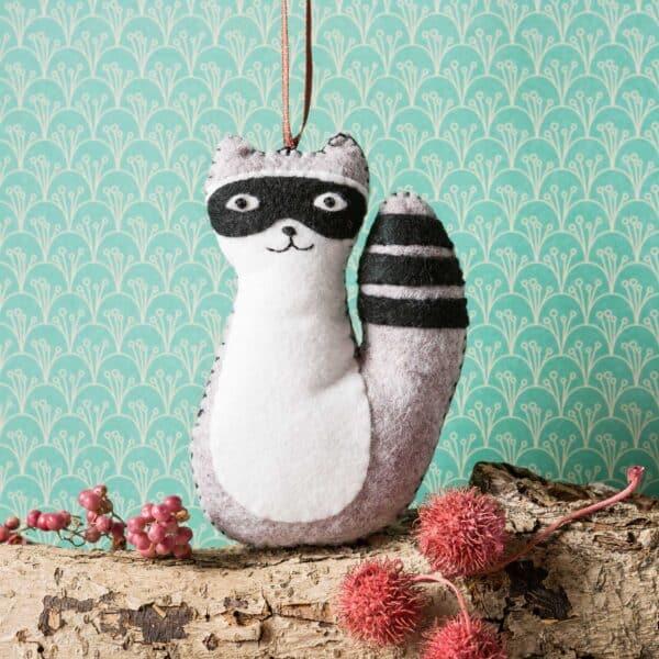 Raccoon by corinne lapierre