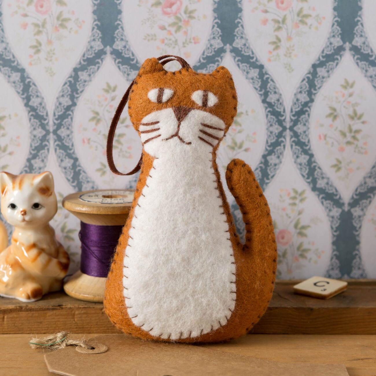 ginger cat by corinne lapierre