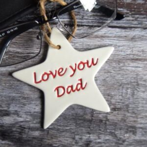 dad star by broadlands pottery