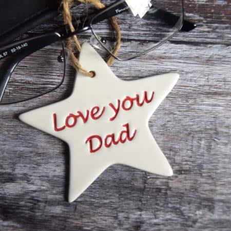 dad star by broadlands pottery