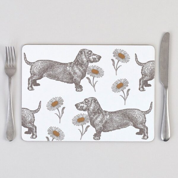 thornback & peel dog placemats