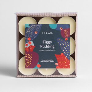 st eval figgy pudding tealights