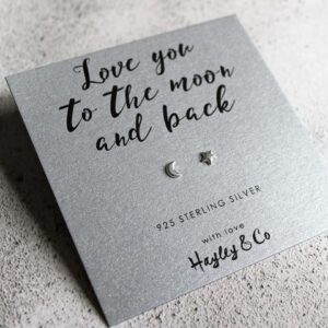 love you to the moon hayley & co earrings