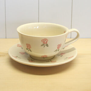 peregrine pottery teacup and saucer