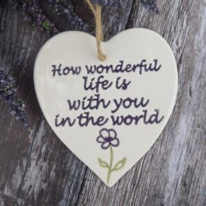 wonderful life by broadlands pottery