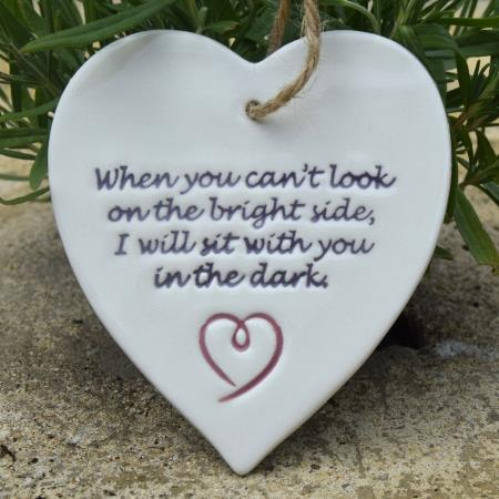 brightside heart by broadlands pottery
