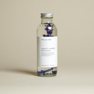 seaweed and samphire bath essence by plum & ahsby