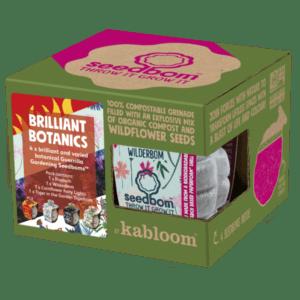 brillient botanics seedbom gift box