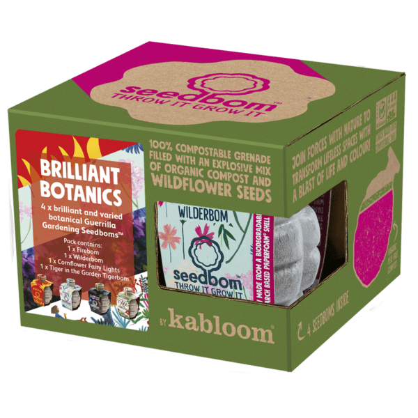 brillient botanics seedbom gift box