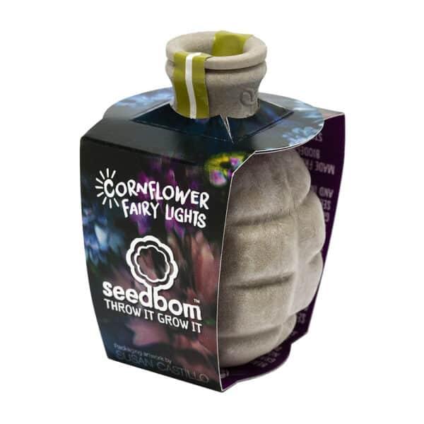 Cornflower fairy bomb by seedbom