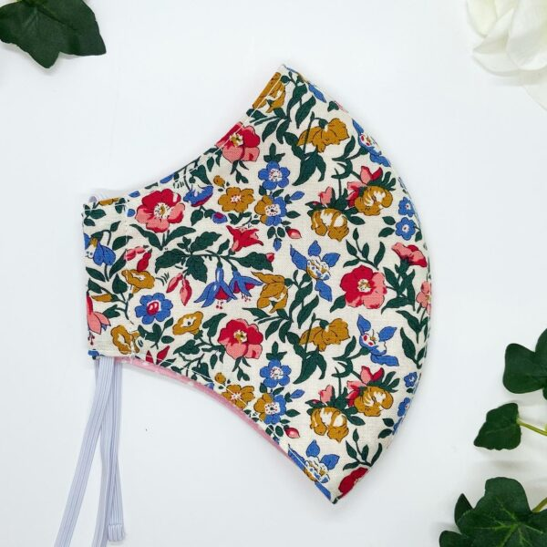 Liberty Flowers Face mask by sarah louise hardwick