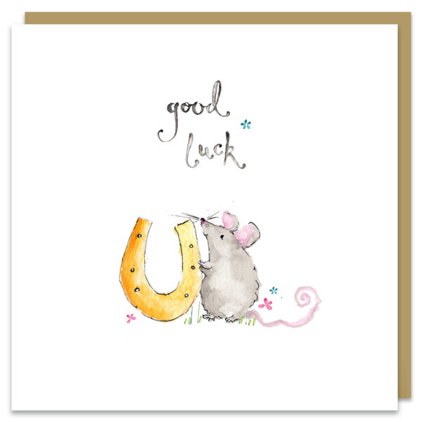 good luck card by louise mulgrew