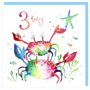 crabs birthday by louise mulgrew