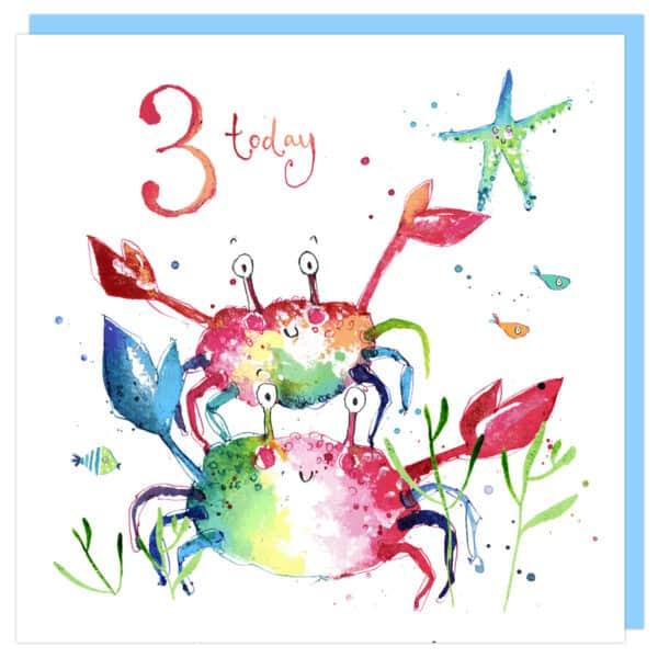 crabs birthday by louise mulgrew