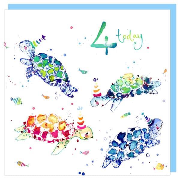 4th birthday by louise mulgrew