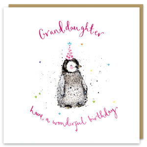 granddaughter card by louise mulgrew