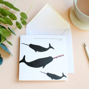 you only live once whale card