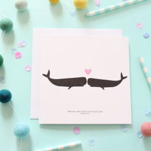 just as you are whale card