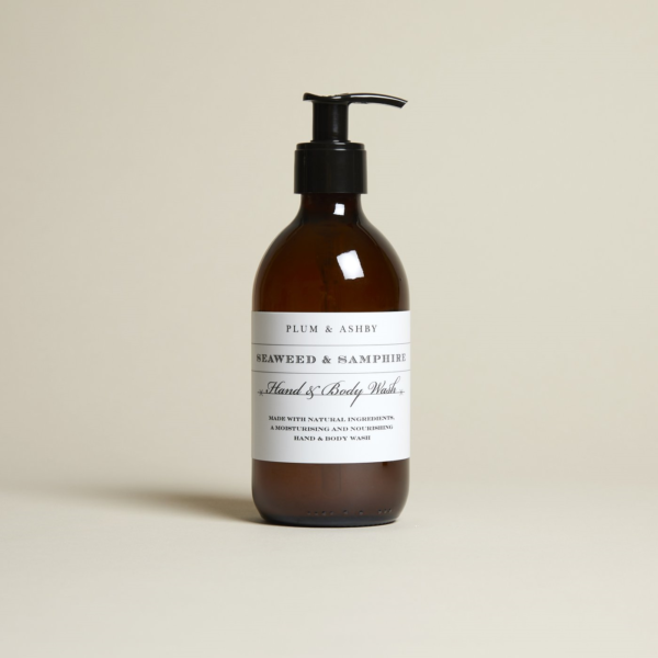 seaweed and samphire hand & body wash by plum and ashby