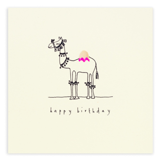 birthday camel by ruth jackson