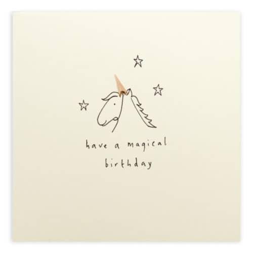 birthday unicorn by ruth jackson